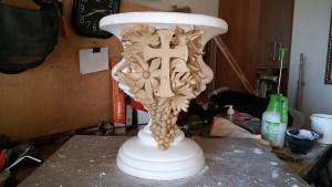 Готова ваза анфас