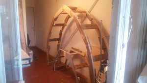 Заготовка верхньої арки