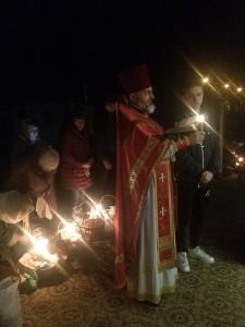 Молитва перед освяченням